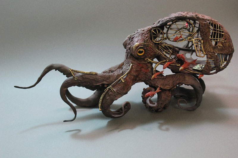 fantasy creature sculptures by ellen jewett (12)