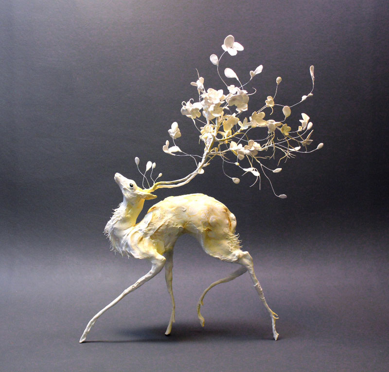 Intricate Handmade Fantasy Creatures by EllenJewett