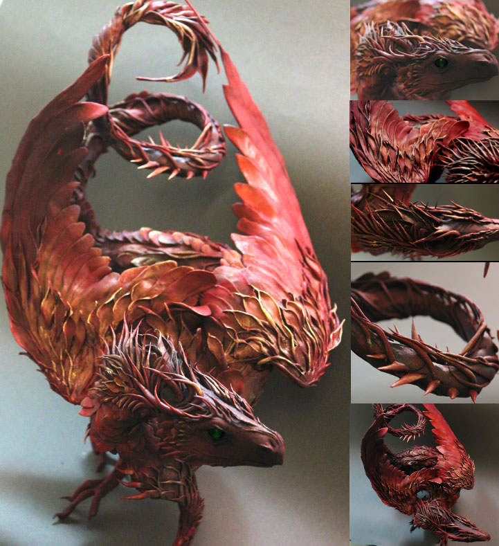 fantasy creature sculptures by ellen jewett (14)