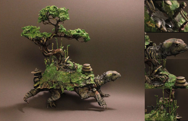 fantasy creature sculptures by ellen jewett (16)
