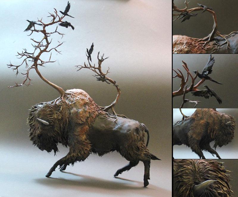 fantasy creature sculptures by ellen jewett (2)
