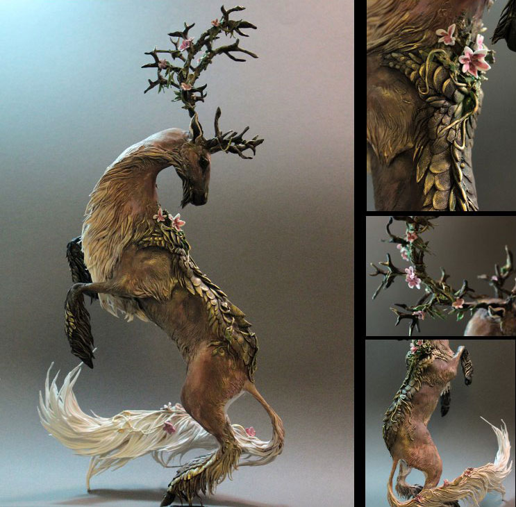 fantasy creature sculptures by ellen jewett (4)