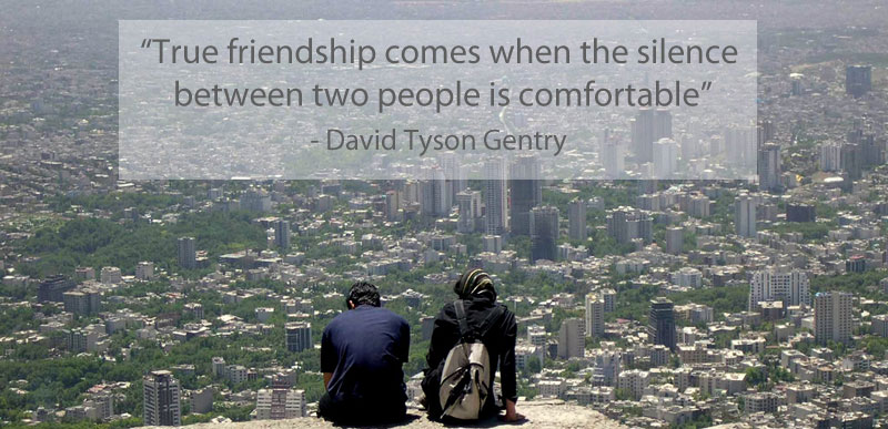 Friendship Comfortable Silence Quote 15 Famous Quotes On Friendship