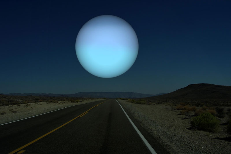 if uranus was as close to earth as the moon What if Other Planets Were as Close to Earth as the Moon?
