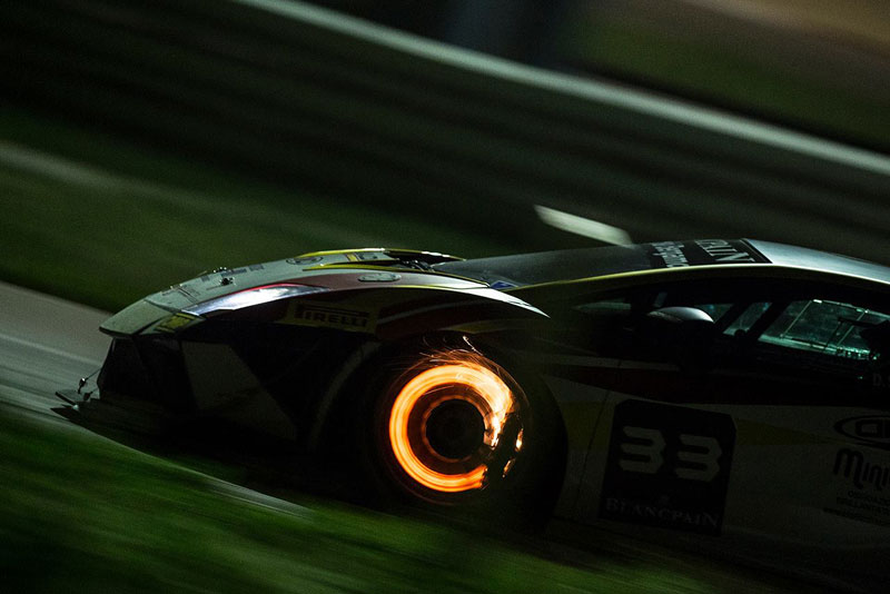 Picture of the Day: Lamborghini Braking at High Speed «TwistedSifter