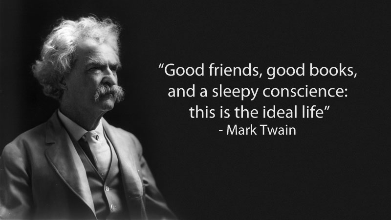 Image of: Success Mark Twain Quote On Friendship 15 Famous Quotes On Friendship New York Film Academy 15 Famous Quotes On Friendship twistedsifter