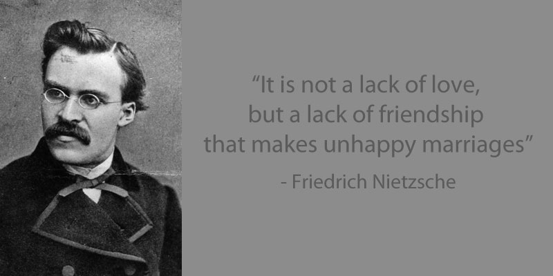 Image of: Inspirational Nietzsche Quote On Friendship 15 Famous Quotes On Friendship Twistedsifter 15 Famous Quotes On Friendship twistedsifter