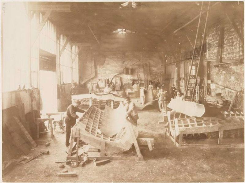 rare photos statue of liberty under construction 1883 (2)