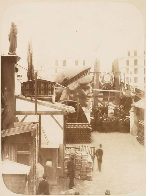 rare photos statue of liberty under construction 1883 (7)