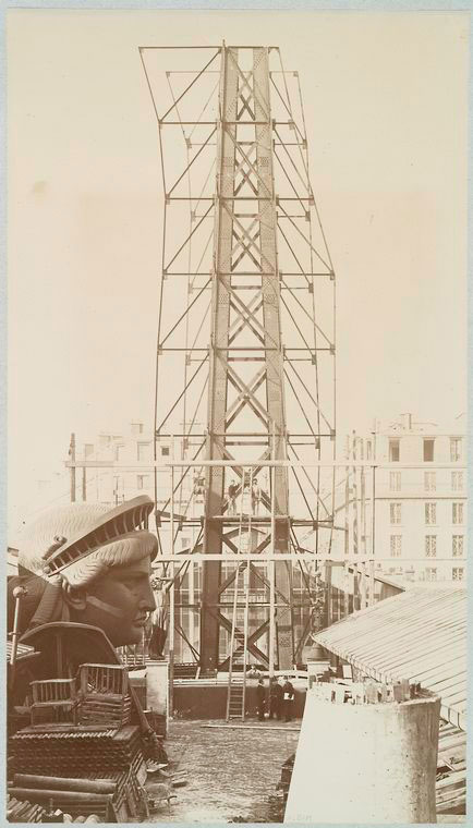 rare photos statue of liberty under construction 1883 (8)