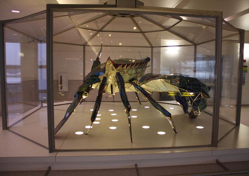 stained glass blue crab baltimore-washington international jackie leatherbury douglass callinectes douglassi (5)