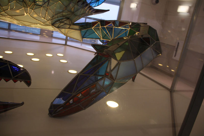 stained glass blue crab baltimore-washington international jackie leatherbury douglass callinectes douglassi (9)
