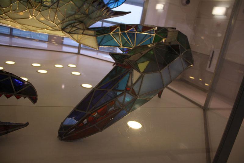 stained glass blue crab baltimore-washington international jackie leatherbury douglass callinectes douglassi (9)