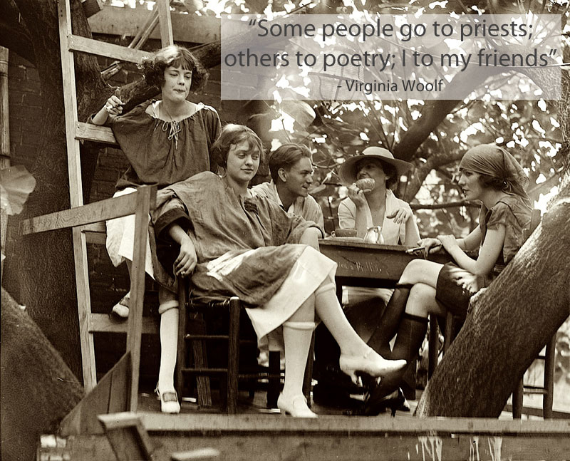 virginia woolf quote on friendship 15 Famous Quotes on Friendship