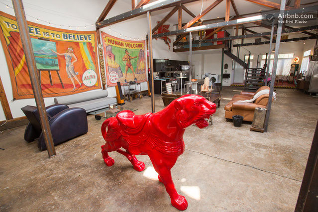 Artist Converts Century-old Gas Station into Home