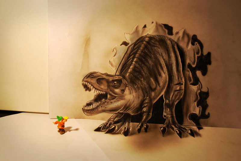 3d pencil drawings by ramon bruin jjk airbrush (1)