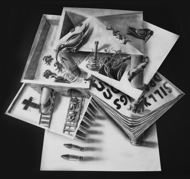 3d pencil drawings by ramon bruin jjk airbrush (2)