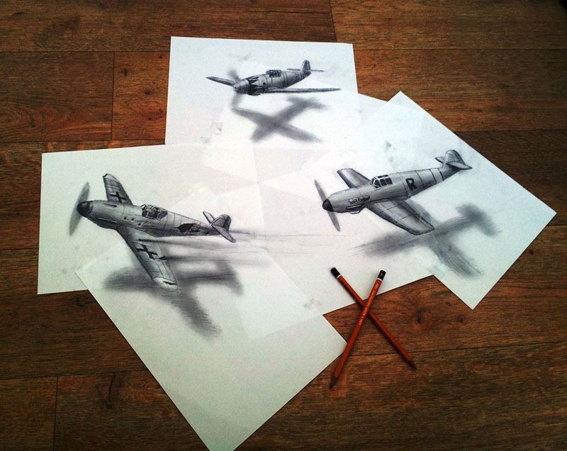 3d pencil drawings by ramon bruin jjk airbrush (4)