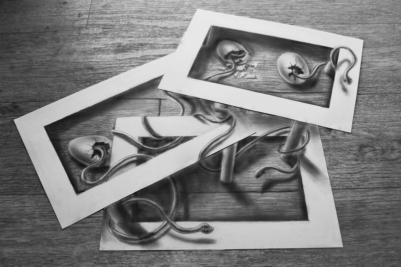 3d pencil drawings by ramon bruin jjk airbrush (5)