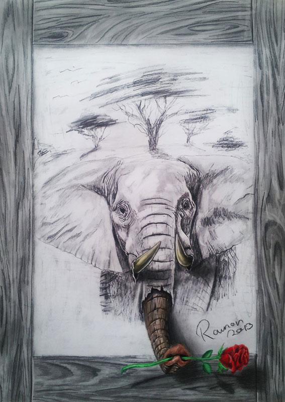 3d pencil drawings by ramon bruin jjk airbrush (8)