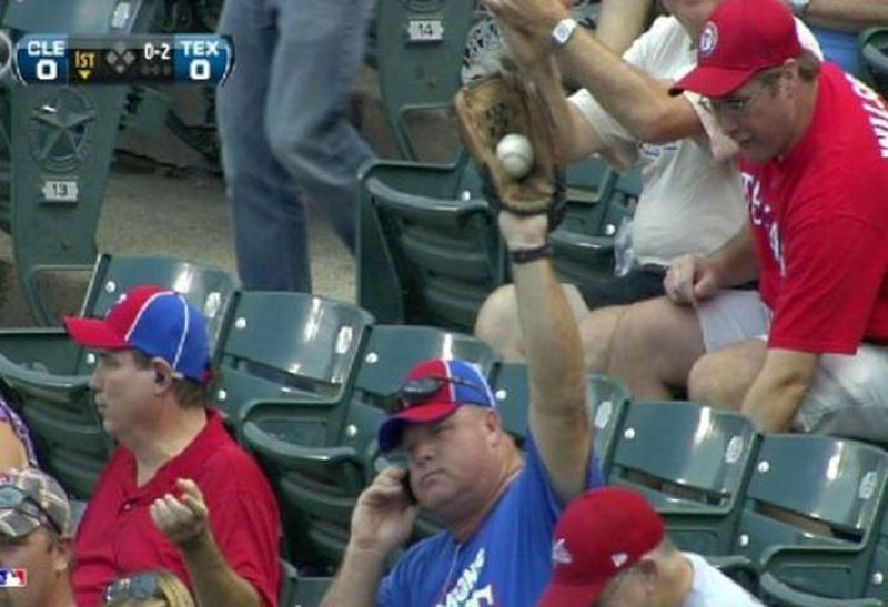 catching-baseball-on-cell-phone