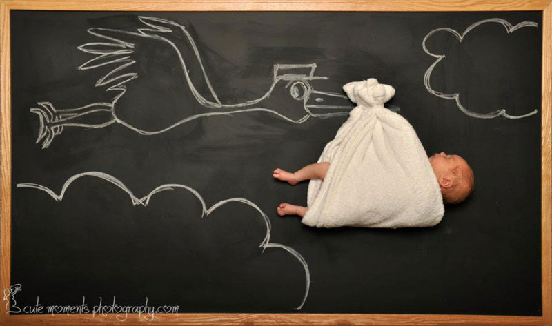 chalkboard advenutres of a newborn baby (1)