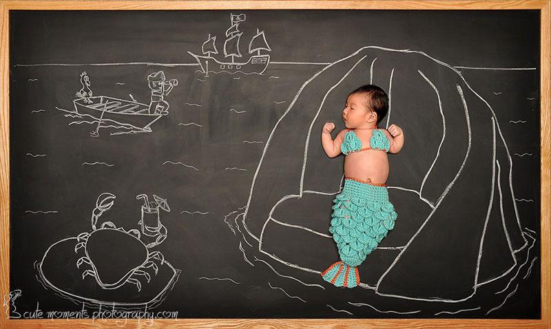 chalkboard advenutres of a newborn baby (10)