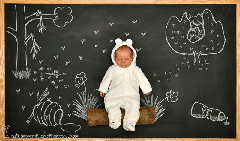chalkboard advenutres of a newborn baby (3)