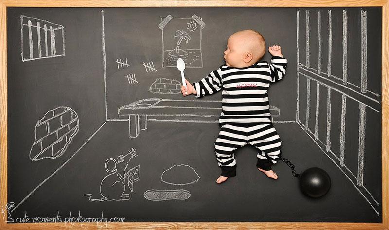 chalkboard advenutres of a newborn baby (6)