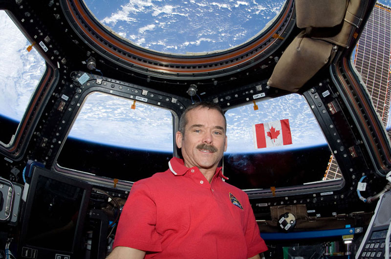 The 13 Coolest Things Chris Hadfield Taught Us About Space
