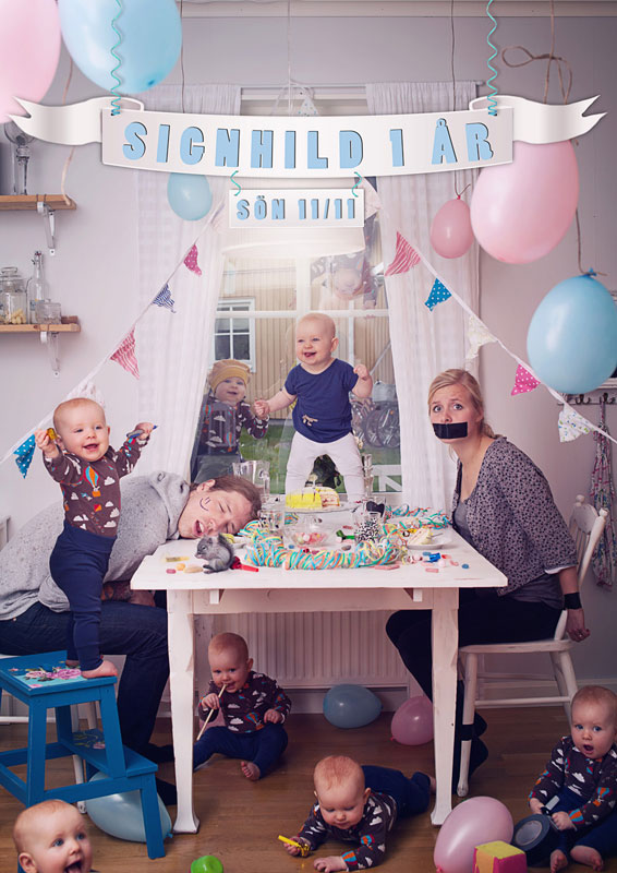 emil nystrom photoshops baby daughter into funny situations (1)
