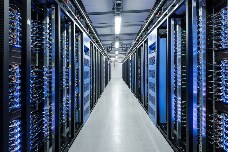 Inside Facebook's Data Center Near the Arctic Circle