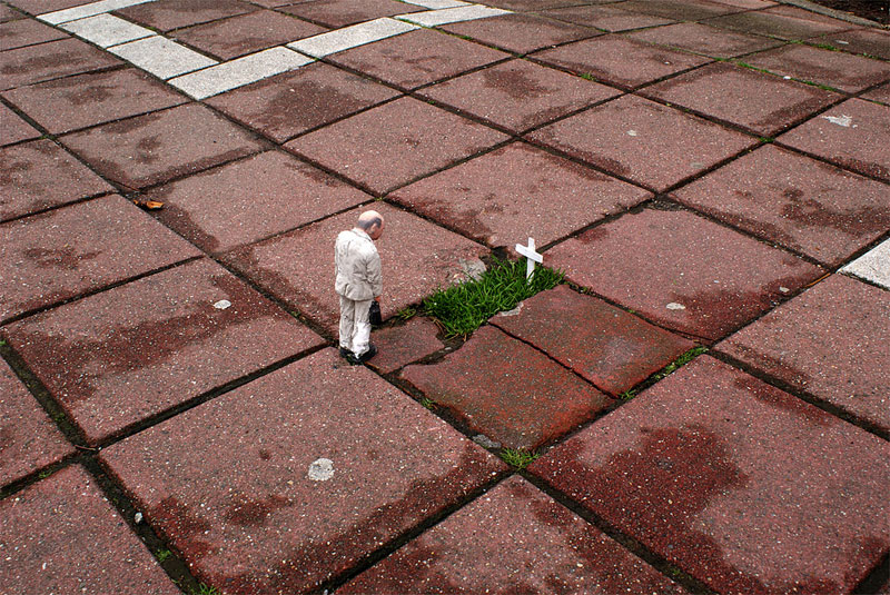The Unseen Lives of Miniature CementPeople