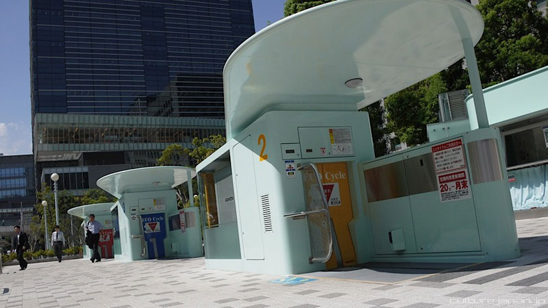 japan underground bike storage parking system by giken (5)