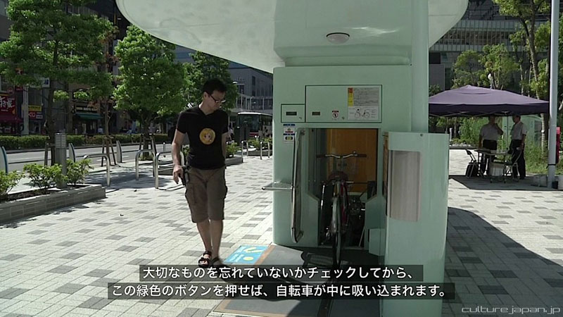 japan underground bike storage parking system by giken (7)
