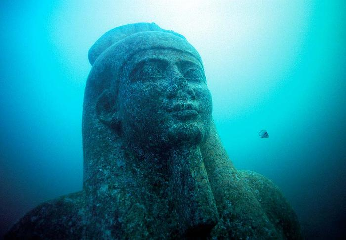 lost city of heracleion egypt franck goddio 1 The Lonely Castle in the Middle of the Desert