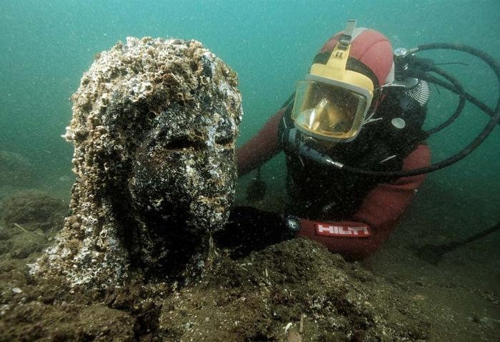Lost city of Heracleion egypt franck goddio (3)