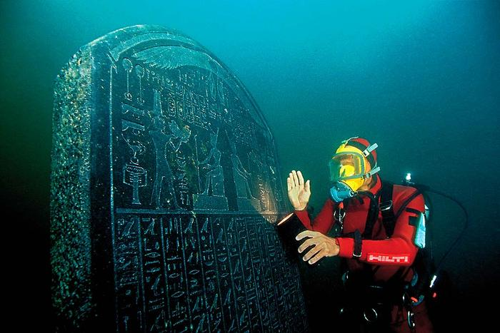 Lost city of Heracleion egypt franck goddio (5)