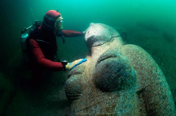 Lost city of Heracleion egypt franck goddio (6)