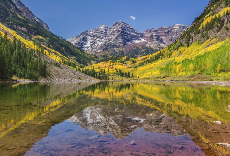 maroon bells colorado America the Beautiful: 50 States in 50 Photos