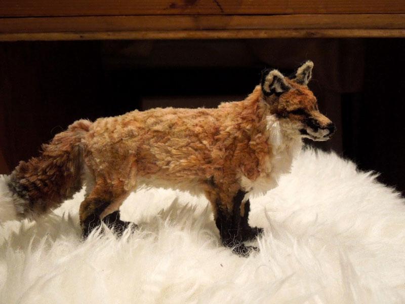 pipe cleaner red fox by lauren ryan (1)