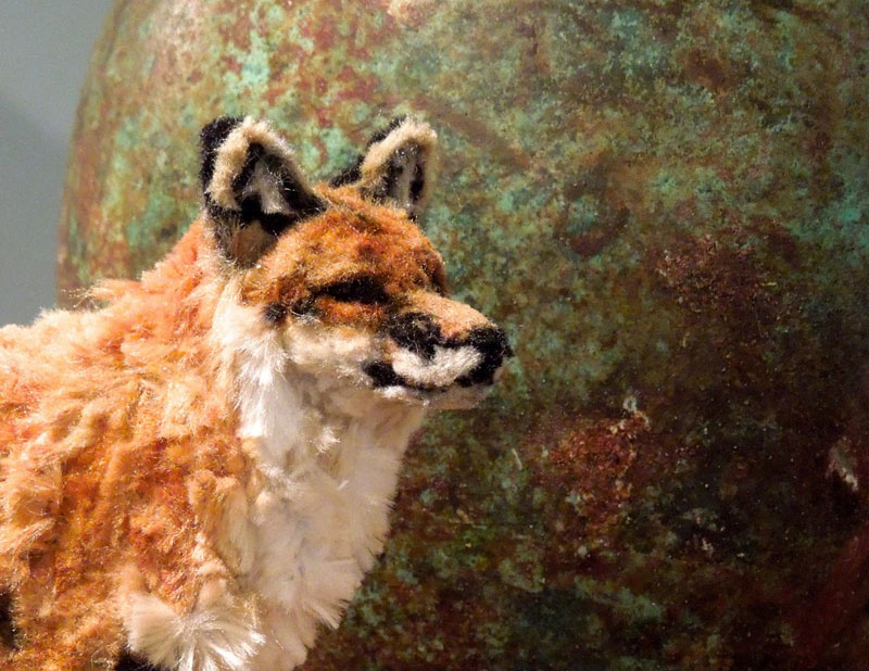 pipe cleaner red fox by lauren ryan (2)