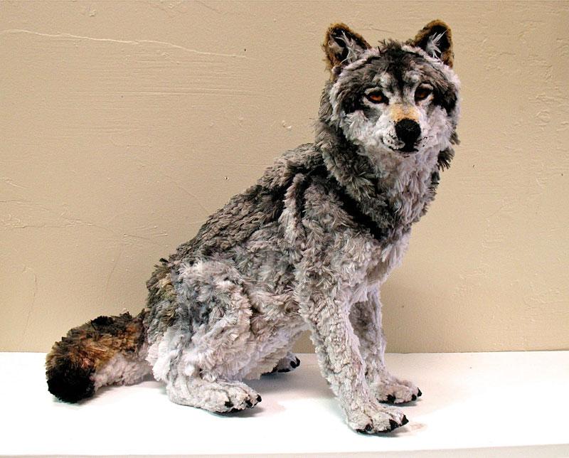 pipe cleaner wolf by lauren ryan (1)