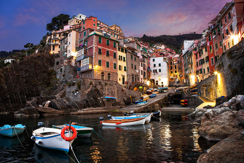 Picture of the Day: Sunrise in the Cinque Terre