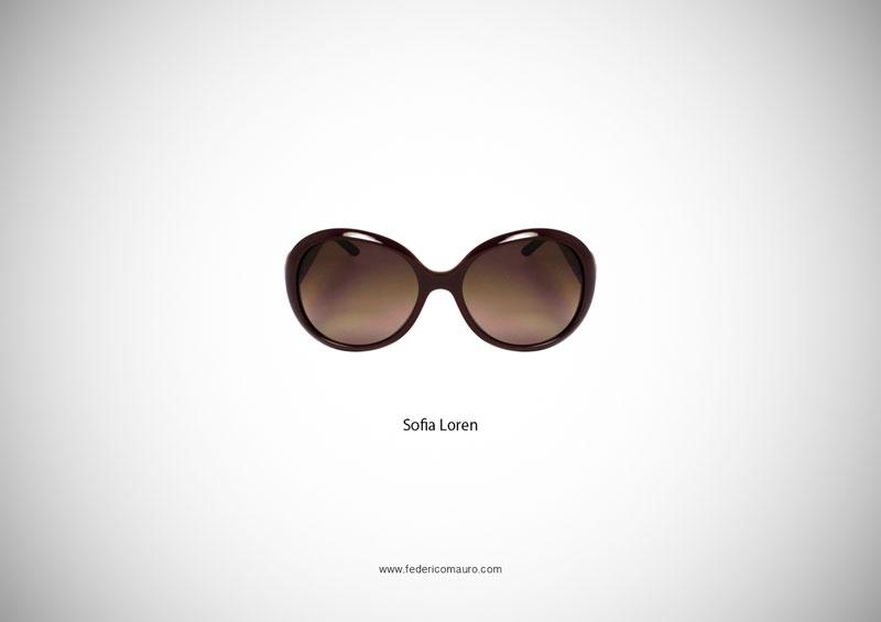 sofia loren glasses 15 Famous Eyeglasses