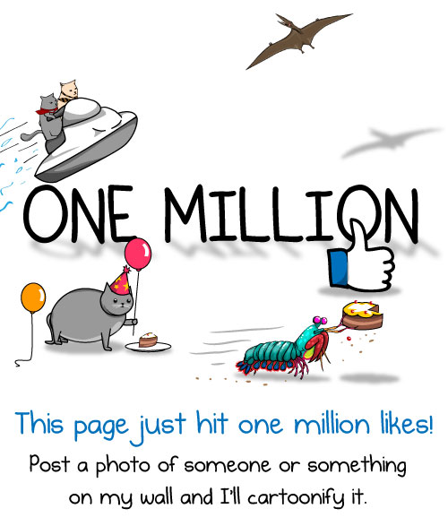The Oatmeal Hit a Million Likes and Then Did This for hisFans