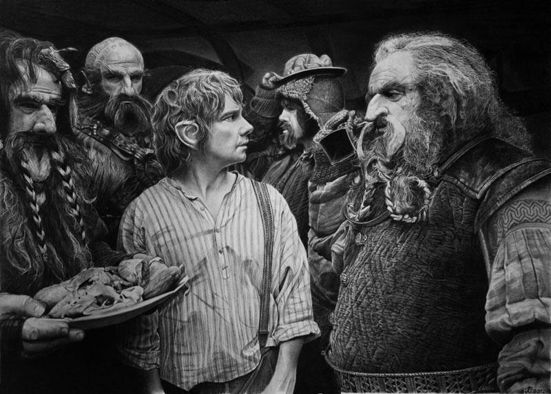 the_hobbit_by_francoclun-d5pfh92