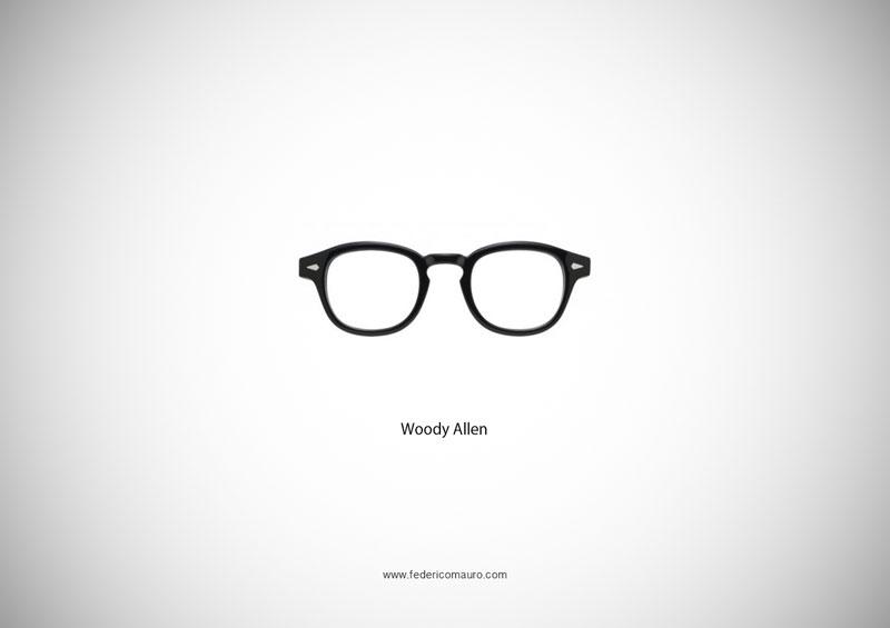 woody allen glasses 15 Famous Eyeglasses