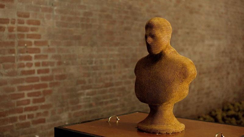 3-bee printing dewar's sid lee ebeling group honeycomb sculptures (4)