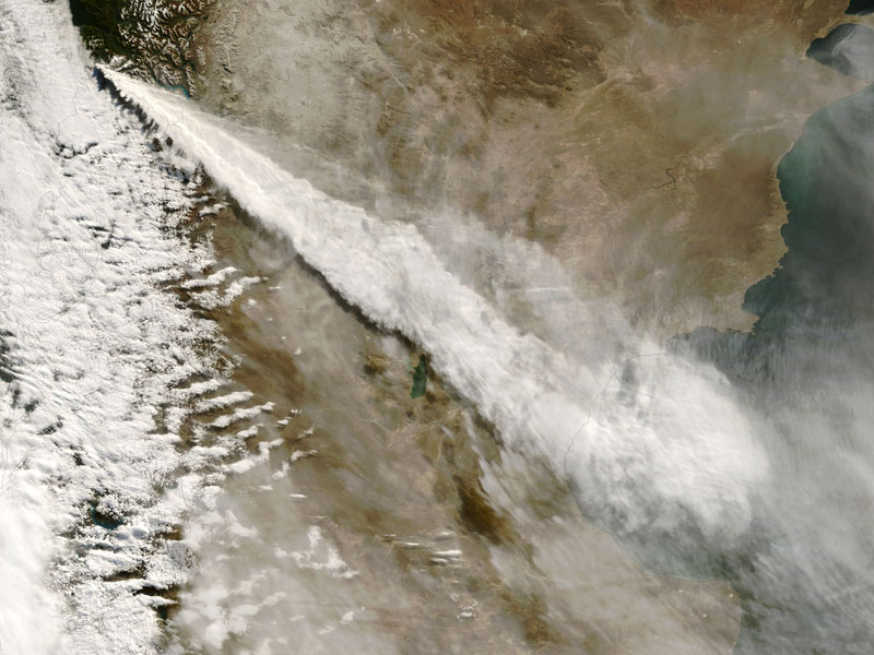 chaiten volcano chile from space aerial nasa